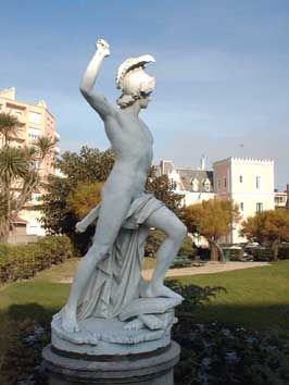 "Horatius Coclès, dit ""Le Borgne"". Biarritz. Aquitaine"