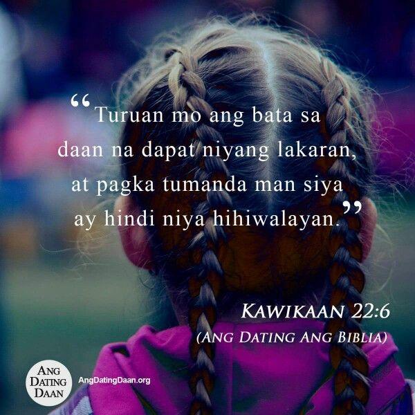 Ang dating biblia 1905 tagalog love