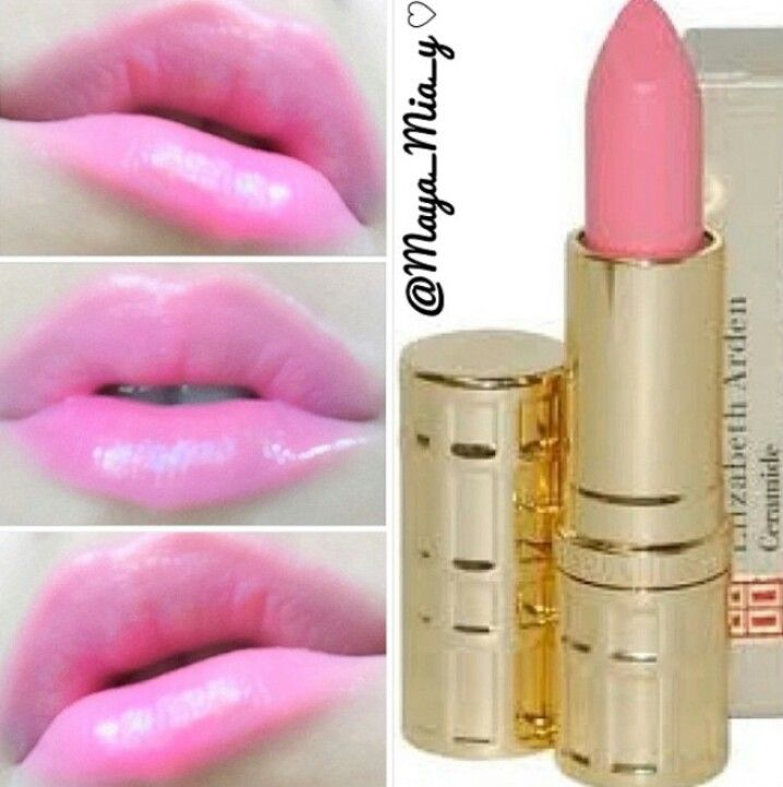 Elizabeth Arden Baby Pink Lipstick Pink Lips Beauty Tips For