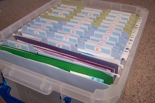 This is a great idea..but WOW.I seriously need to start downsizing..I have two entire big storage totes FULL of schoolwork already..only 2nd grade..EEP!!  ;o)