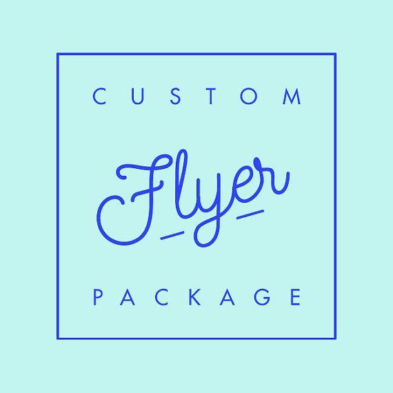 Custom Flyer Flyer Design Flyer Template Promo Flyer Special