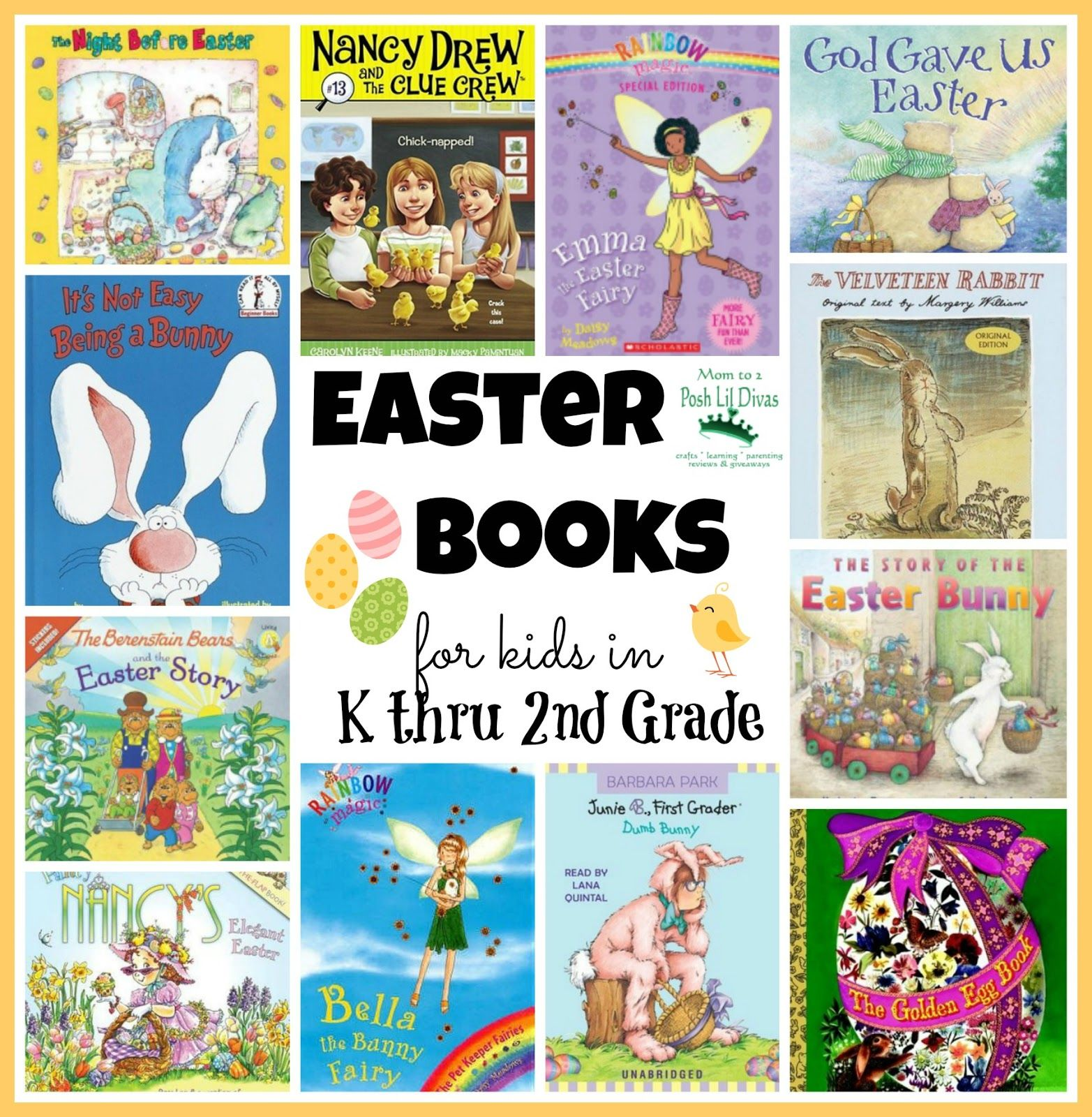 Easter Books For Kids In K Thru 2nd Grade From Mom To 2