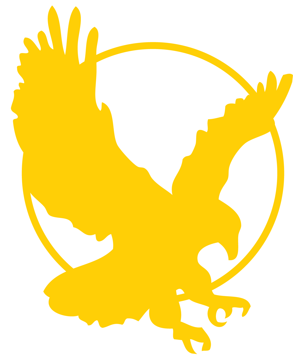 17 Black And Gold Eagle Icon Images