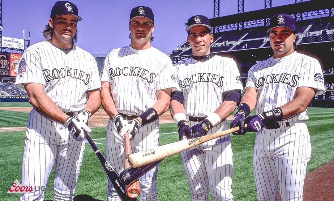 Colorado Rockies Generations Of Bombers In 2020 Colorado Rockies Rockies Baseball Nfl Arizona Cardinals