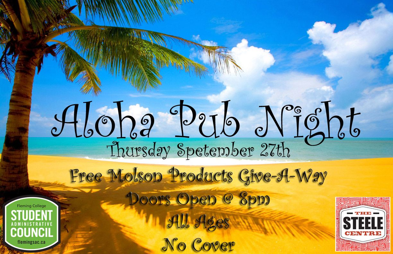 The stunning good time of Aloha Pub Night!