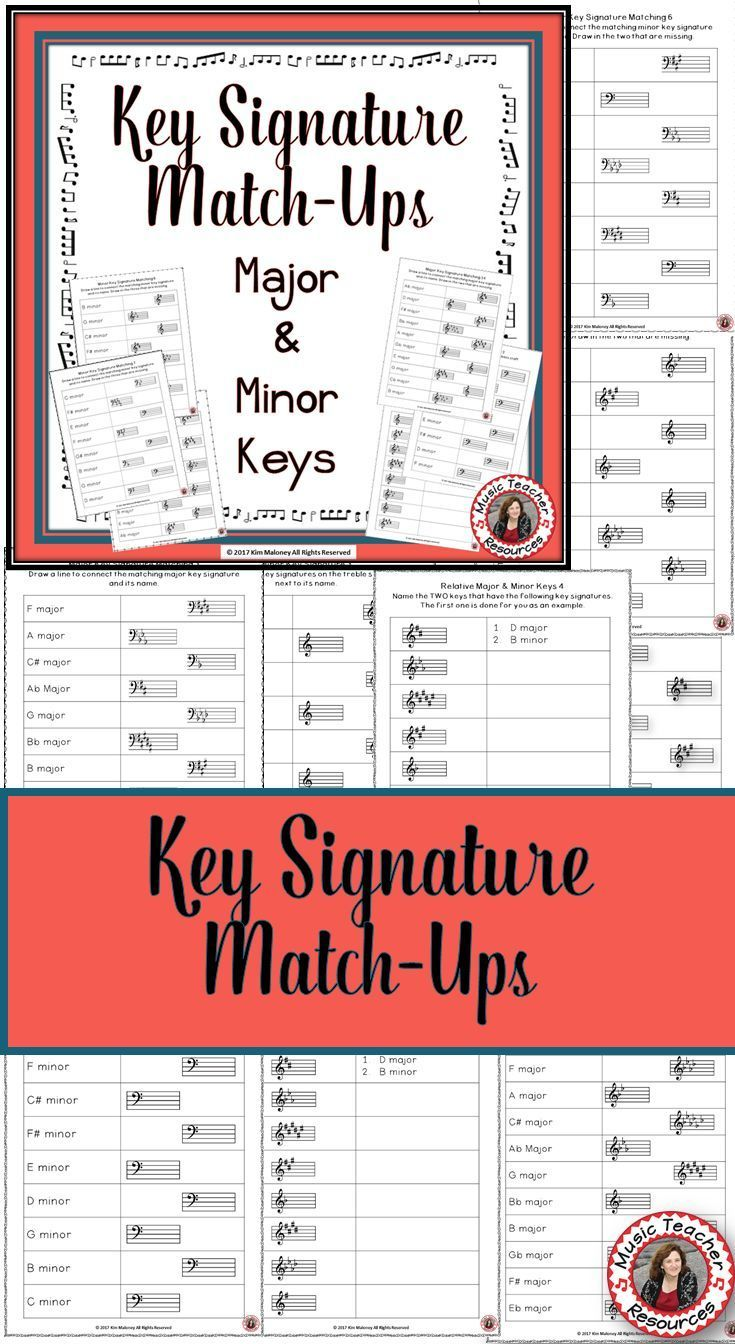 music lessons |    Key signatures  |  50 music worksheets aimed at reinforcing students' understanding and knowledge of key signatures.    #musiceducation