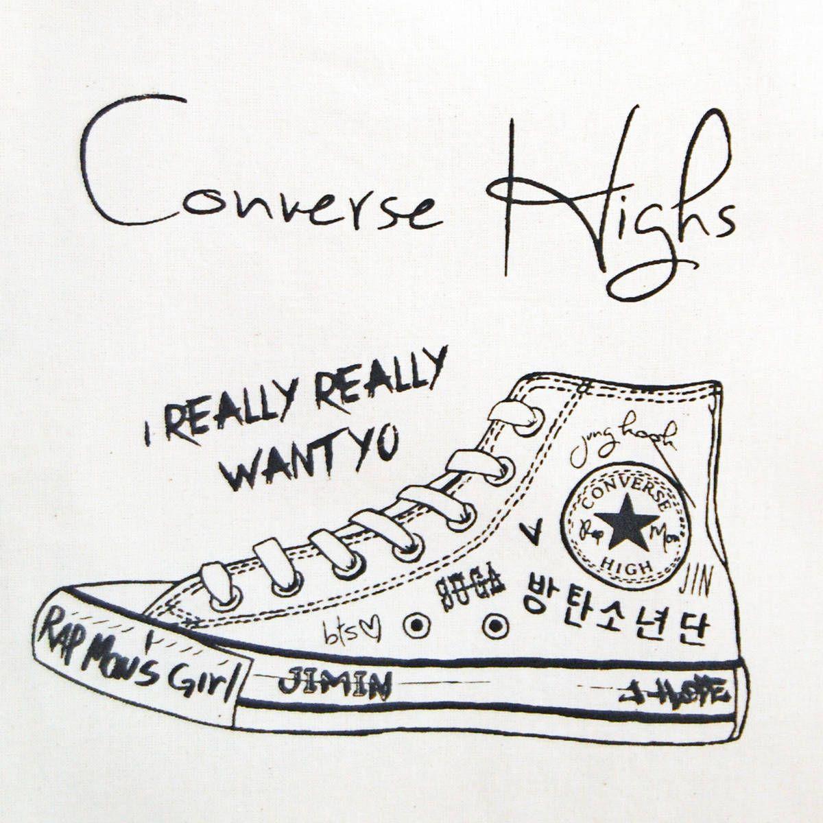 converse bts