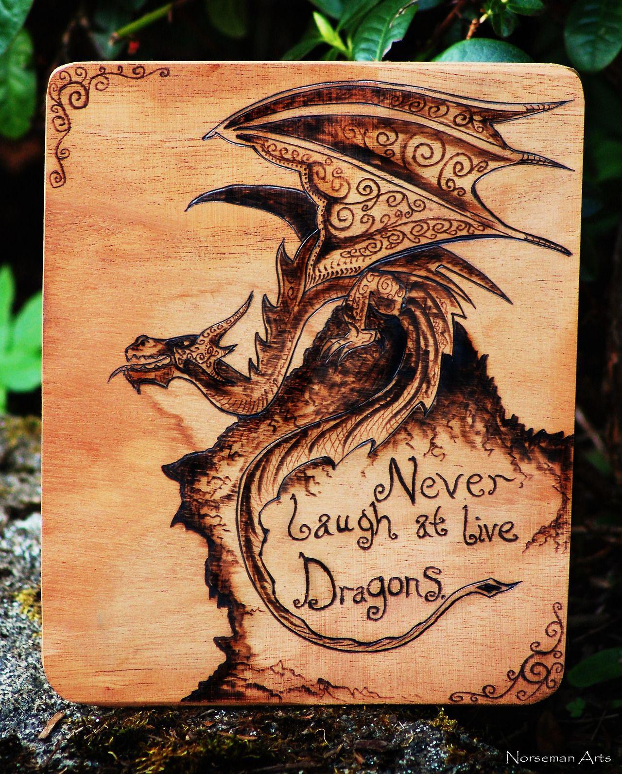 Картинки с драконами для выжигания по дереву