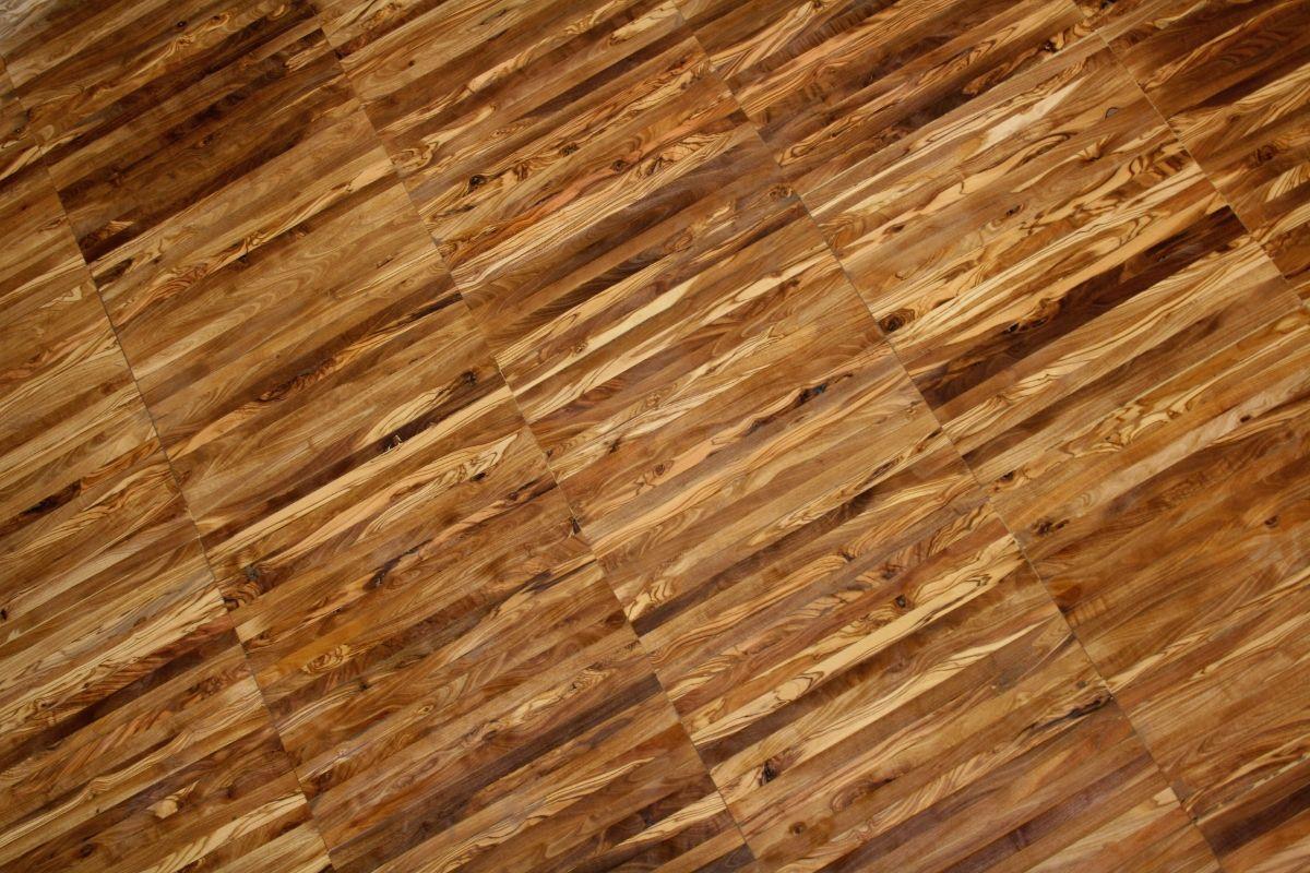 parquet industrial de madera de olivo Madera de olivo