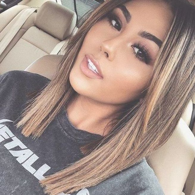 35 Pretty Collarbone Length Haircuts Part 35 In 2020 Hair Lengths Medium Length Hair Styles Medium Length Hair With Layers