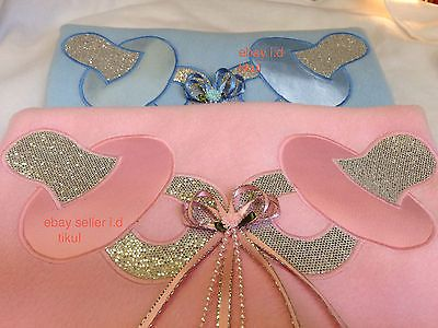 Jazziejems Boutique Classic Classy Pretty Bib Christening Wedding