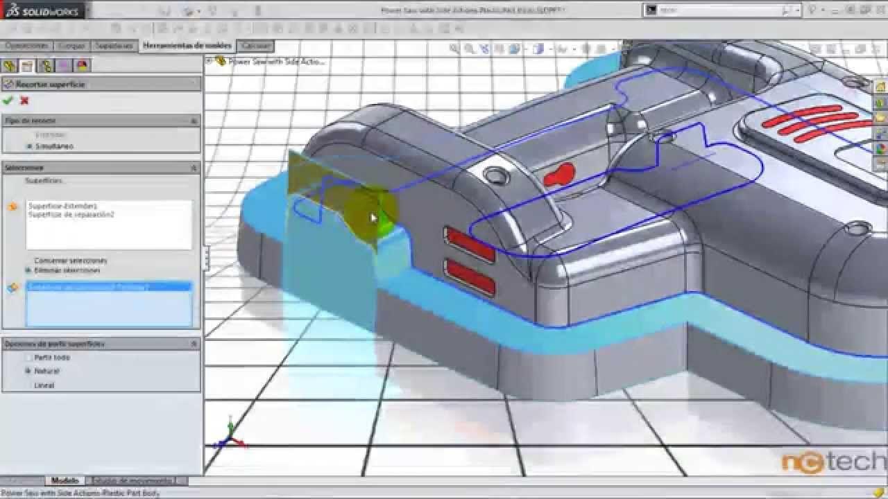 "Solidworks- Diseño de moldes ""Core & Cavity"" Extra #1"