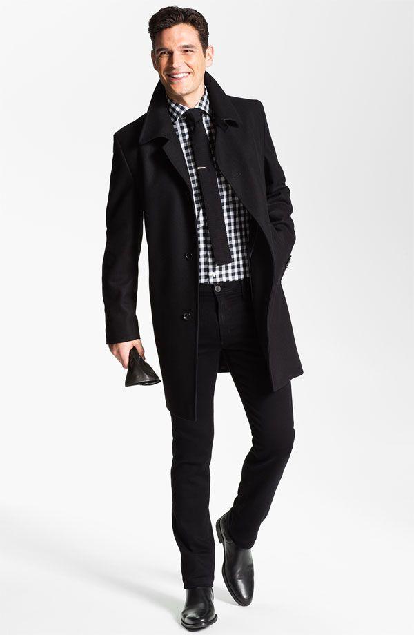 8d917b98665a BOSS Black 'The Task' Coat #Men #Nordstrom #NSale | Nordstrom Half ...