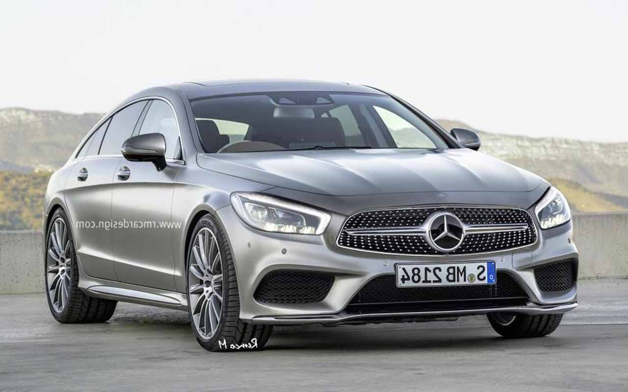 All new 2017 mercedes cls class rendering http www for 2017 mercedes benz cls class length