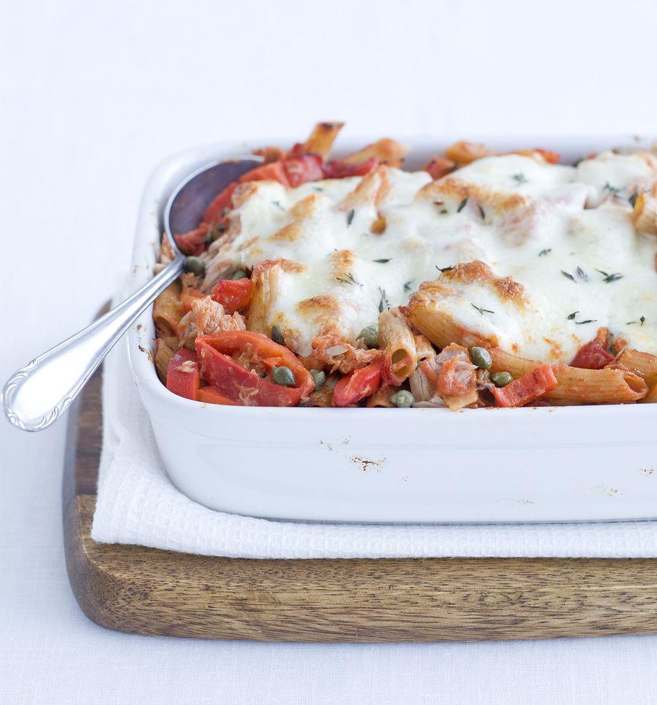 Ovenschotel met tonijn! #weekmenu #tonijn #pasta #schotel #oven #lekker #koken #mmm #bakken #yummy #food #dinner #watetenwevandaag #wateten #avondeten
