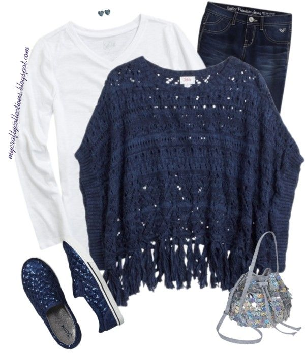 Girl\u0027s Outfit January Shimmer , Cute winter outfit from