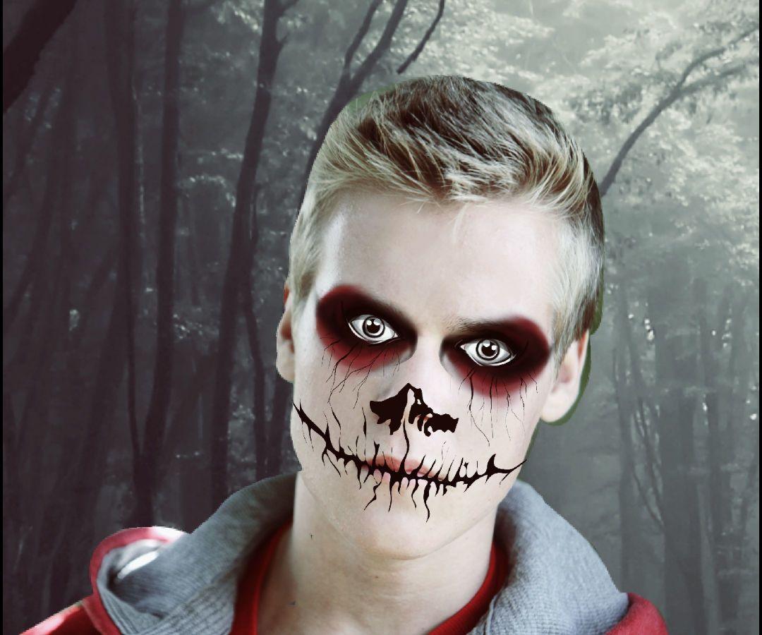Halloween Photo Editing a Monster Halloween