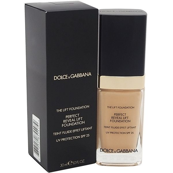 Dolce   Gabbana Fresh Beige Perfect Reveal Lift Foundation ( 60) ❤ liked on  Polyvore 7edc84eebc74