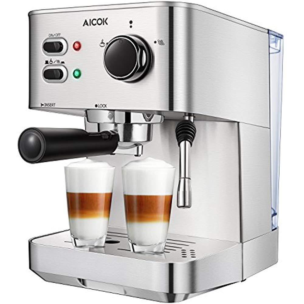 Coffee Machines - Coffee Machines ideas #CoffeeMachines #coffee AICOK Manual  Espresso Machines Machine Cappuccino