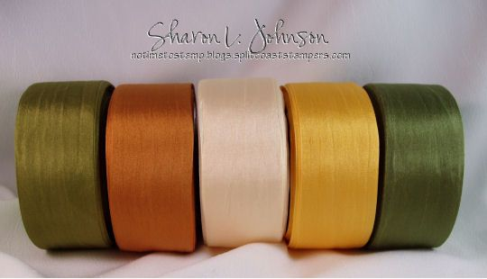 No Time To Stamp Silk Ribbon Sampler Pack Of 125 X 3 Yds Autumn