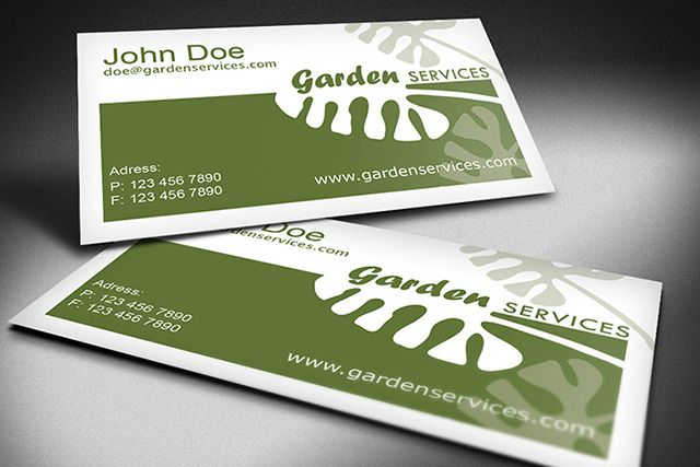 Gardening Business Cards Idea Business Card Template Business Cards Cards