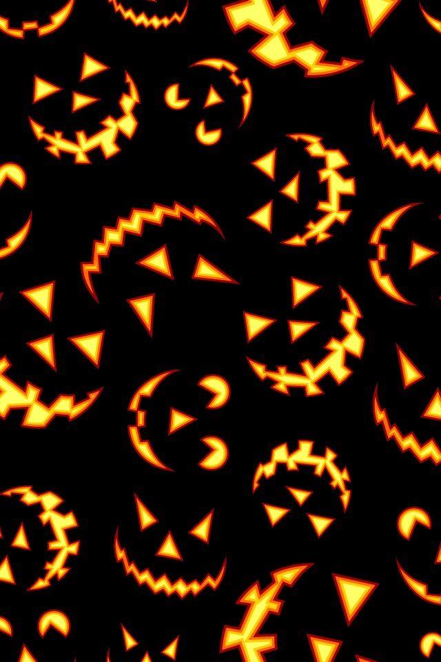 Jack O Lantern wallpaper for phone | background/wallpapers | Halloween wallpaper, Iphone ...