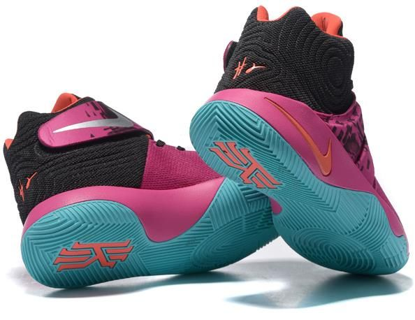 dd88dcd380e Kyrie 2 Pink Orange Black Green1