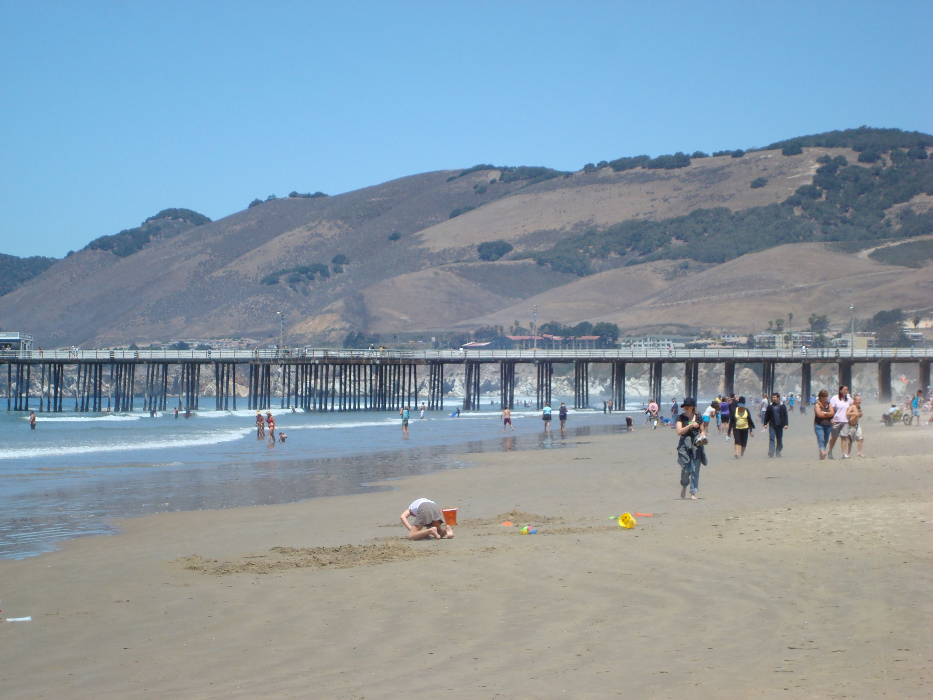 Pismo Beach Ca Great Place To Take The Dogs For A Walk