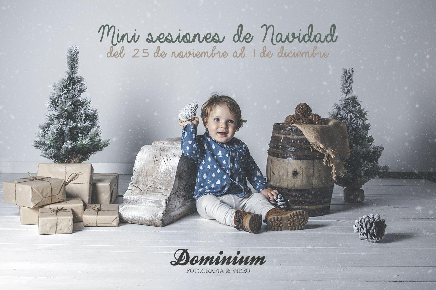 Mini sesiones de navidad en Dominium Fotografía