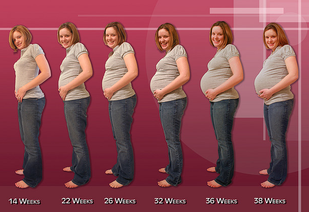 barriga dura embarazo 36 semanas