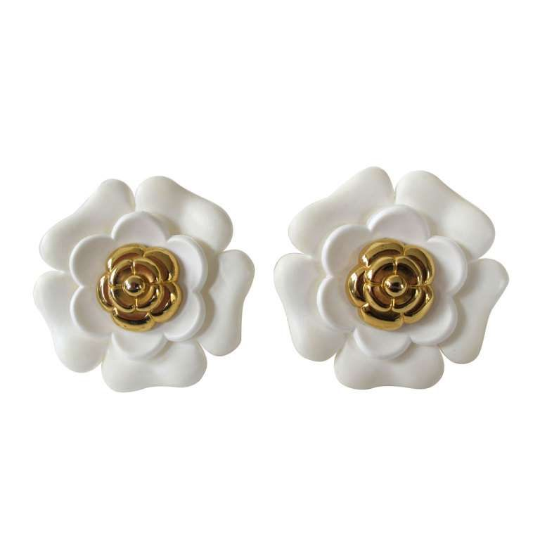 Chanel Iconic Large Earrings 1