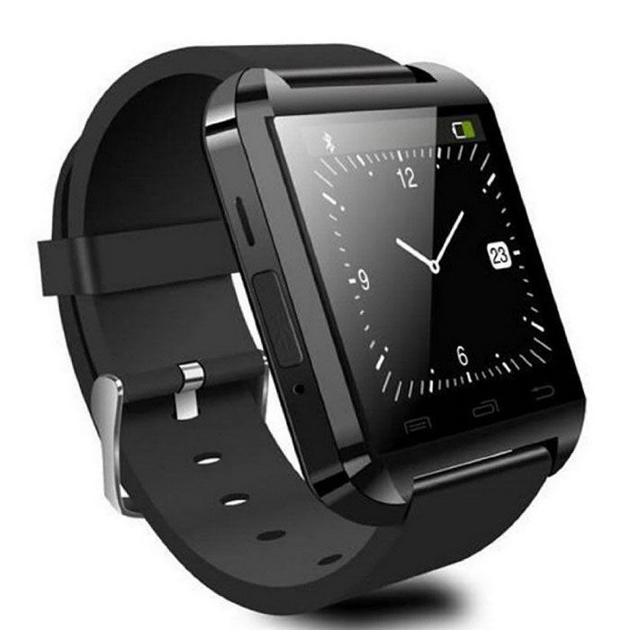 00f230d24e0d Bluetooth Smart Watch for Android - Black - Free Shipping - DealExtreme