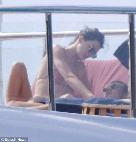 Kendall Jenner lounges seductively on former beau Harry Styles