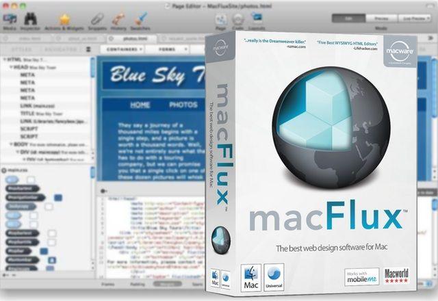 Macgasm Deal: MacFlux Makes Web Design Easy