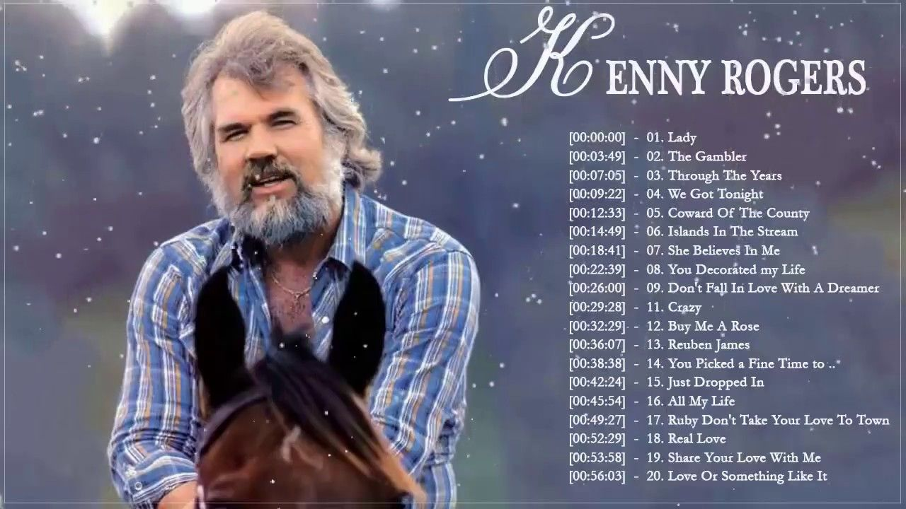 Kenny Rogers Greatest Hits Kenny Rogers Best Songs Kenny