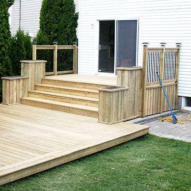 construction de deck de piscine à Montréal et en Montérégie More - couler une terrasse en beton