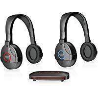 Sharper Image Shp922 2gb Wireless Rf Headphones For Tv Sharper