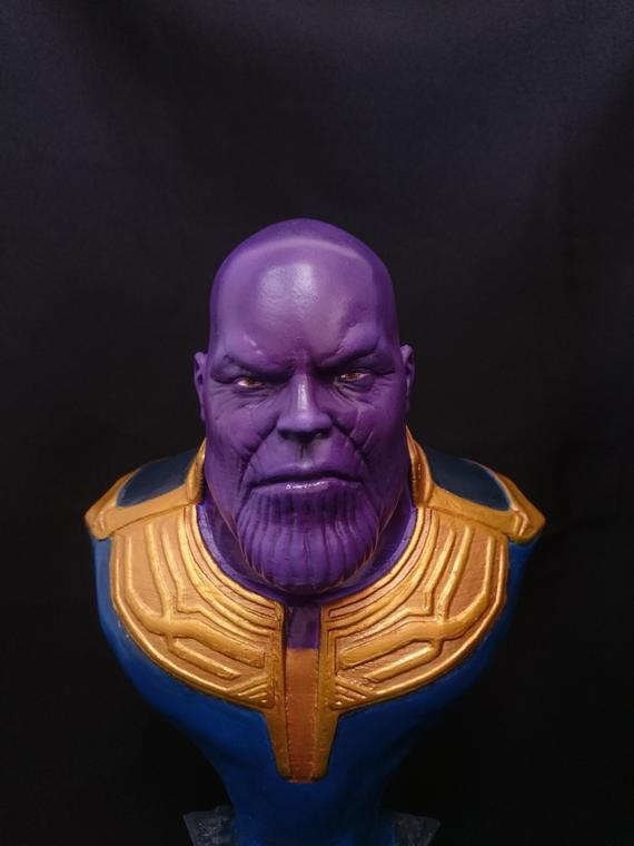 Thanos Bust War Of Infinity Figurine Thanos Miniature Statue Marvel Statues Avengers