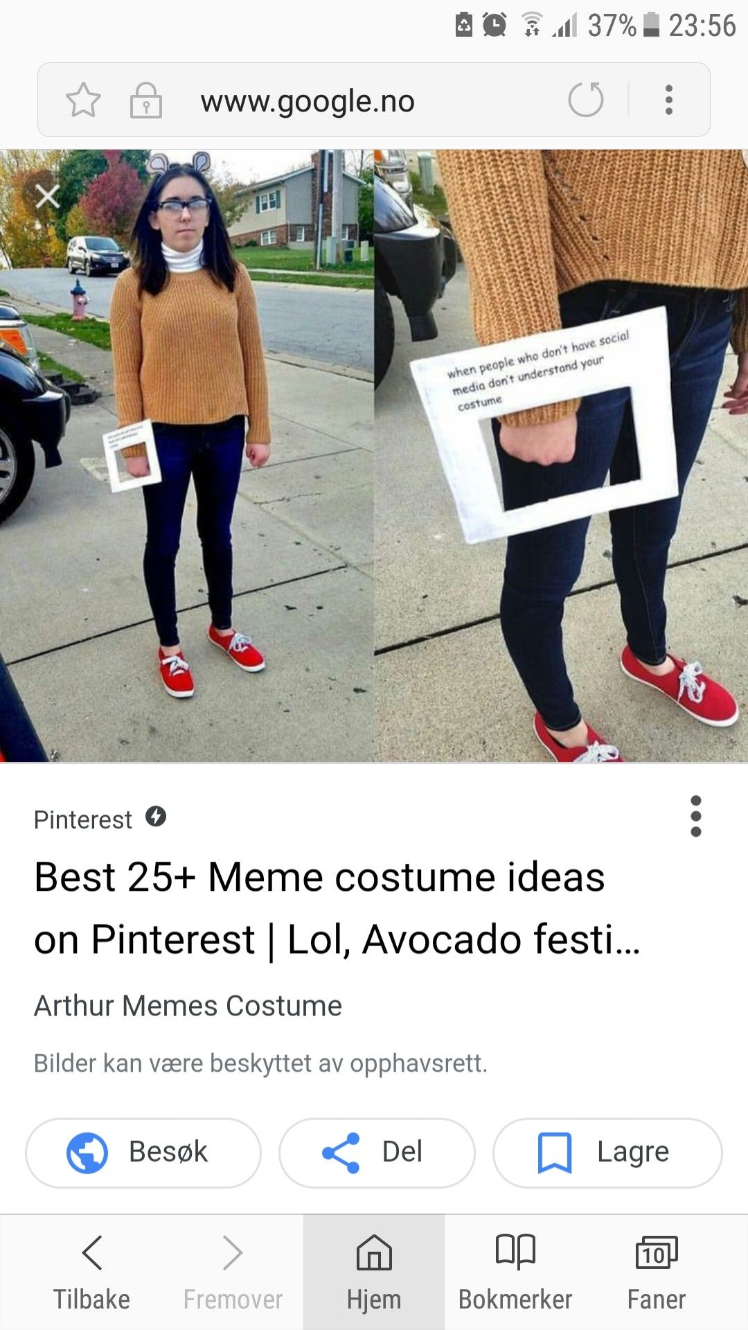 Meme costume