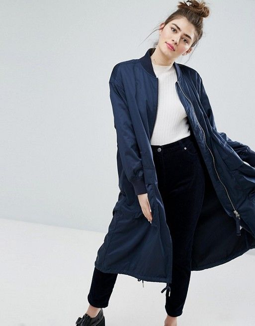Monki Longline Jacket
