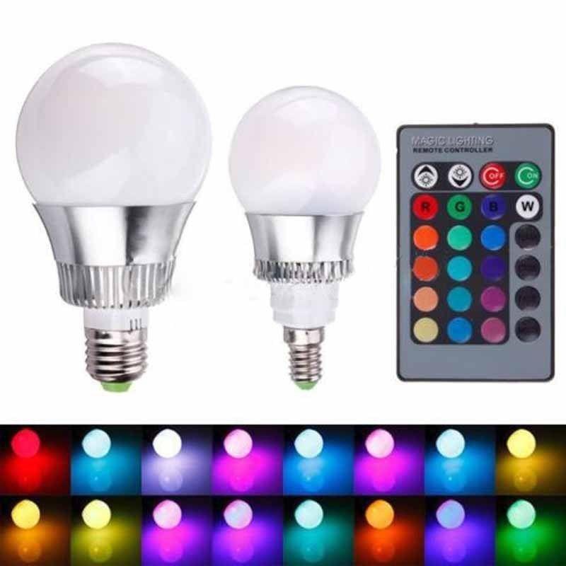 2015 Led Light Rgb Led Bulb 5w 10w E27 900 Lumen E14 Globe Ac85