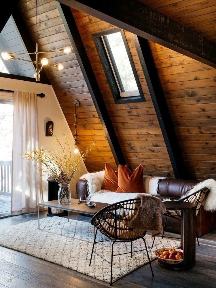 11 Marvelous Attic Bathroom Small Ideas In 2020 A Frame House A Frame Cabin Rustic House