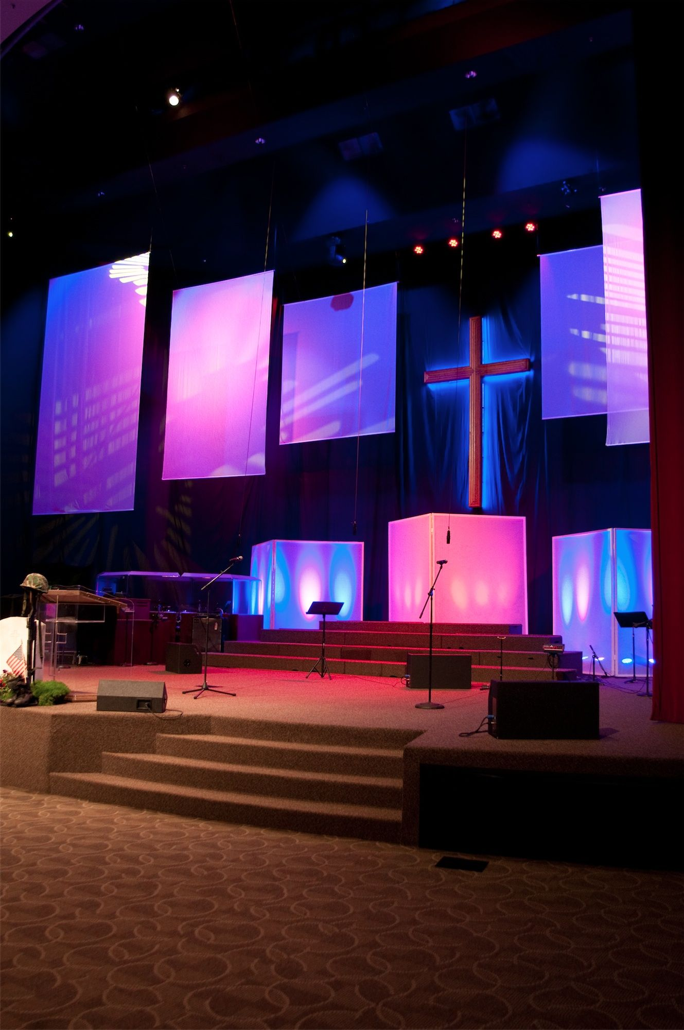 17 best images about church stage design ideas on pinterest - Church Stage Design Ideas