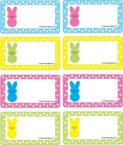 Crafty image intended for free printable easter tags
