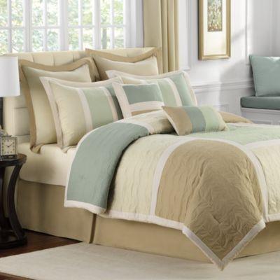 Hollandale 8 Piece Comforter Set Bed Bath And Beyond Comforter Sets Home