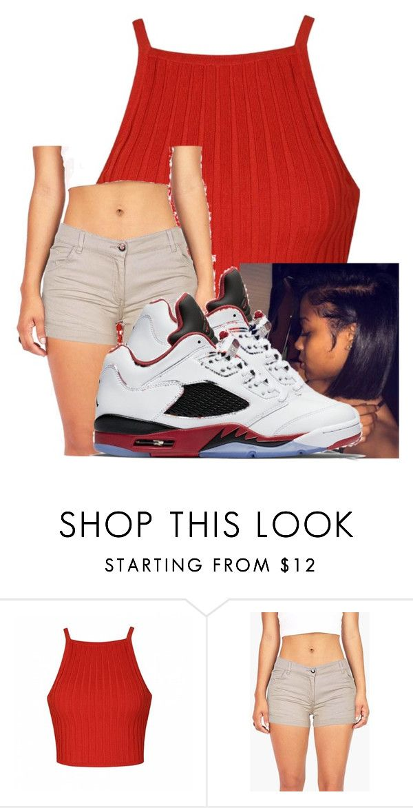 """"""""""" by aniahrhichkhidd ❤ liked on Polyvore featuring Ally Fashion and NIKE"""