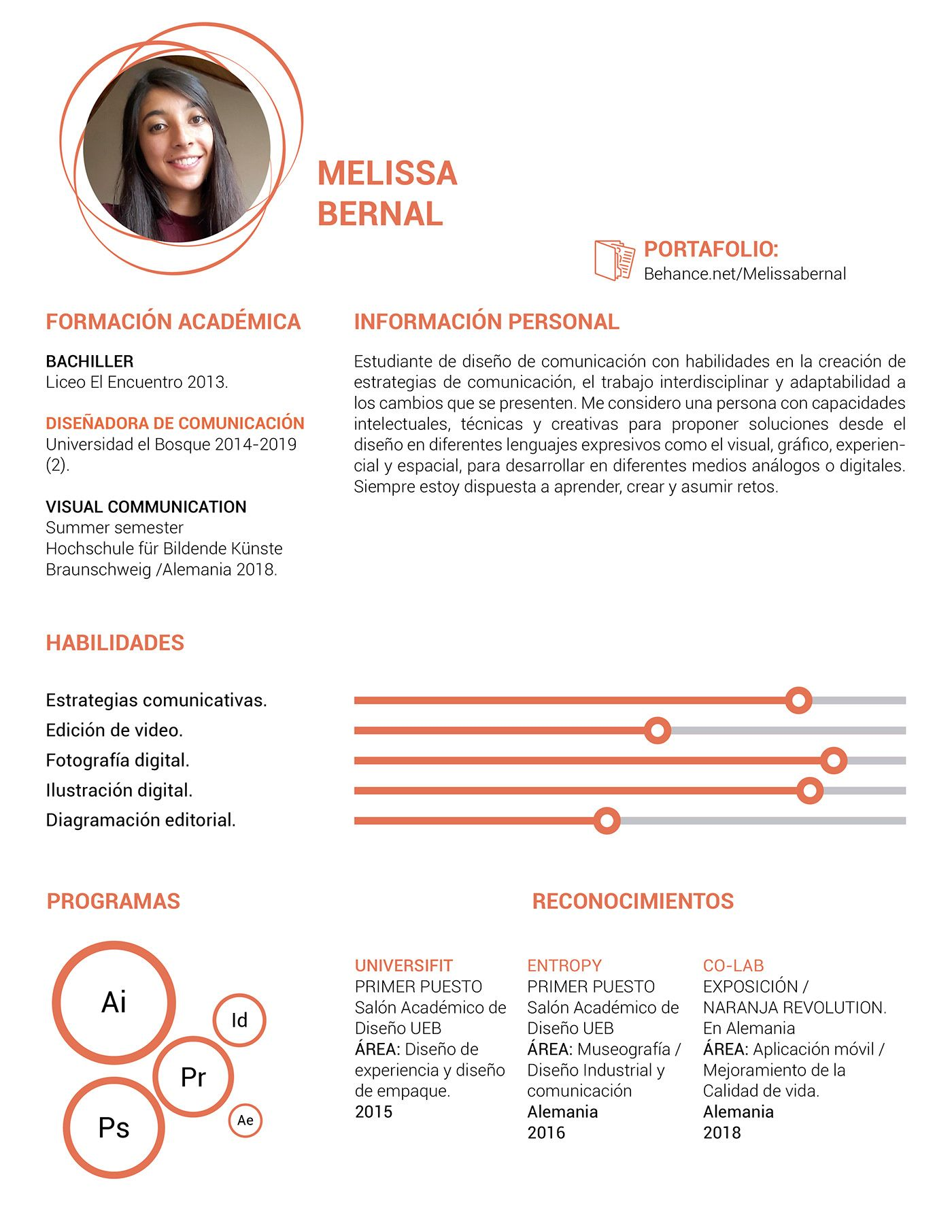 Infographic CV / Resume in 2020 Creative resume, Graphic