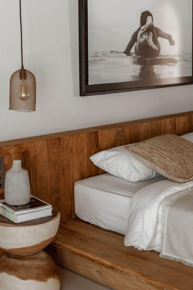 Une décoration authentique et naturelle pour une maison balinaise