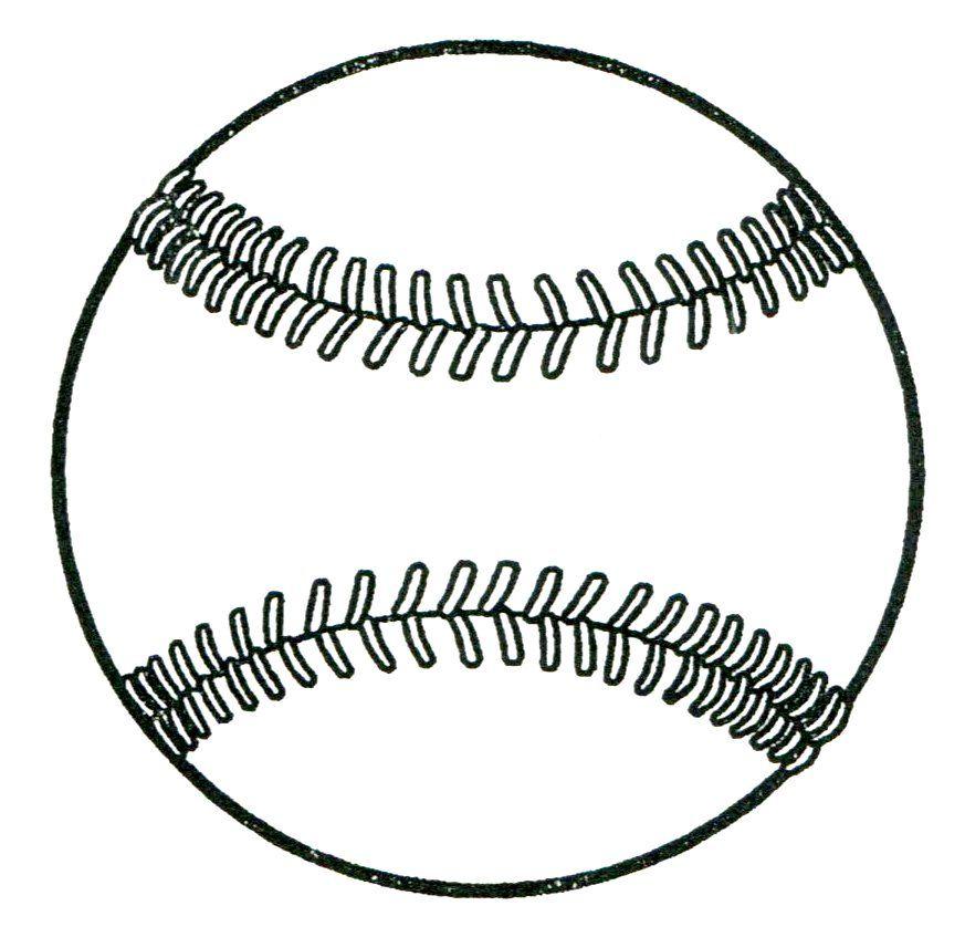 printable baseball drawing fun