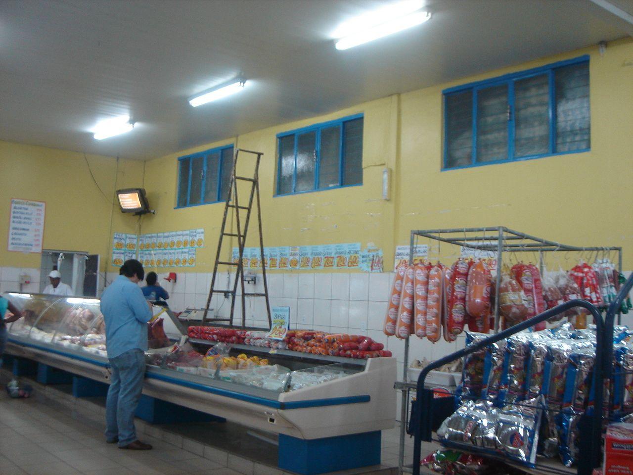 Hipermercado Caçulinha, 2008. Palmas, Tocantins, Brazil.
